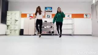 [ B.T.R Crew SEVT ] The Fat Rat - Shuffle dance by Trang Chjk Pog ft Huyền Bii