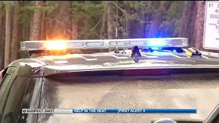 """Camper shoots """"armed and dangerous"""" suspect on Rampart Range Road"""