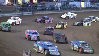 IMCA Northern Sport Mod feature Independence Motor Speedway 4/18/15