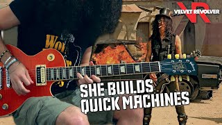 STESH - She Builds Quick Machines (Solo) (cover Velvet Revolver)