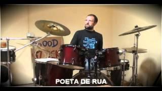 POETA DE RUA - MULTIINSTRUMENTISTA . DRUM´´S JAM LABORATÓRIO
