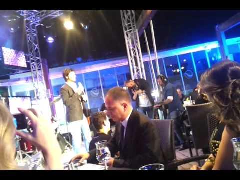 Rotana Cafe Amman Openning Président Abdul-Karim Kreidieh and Lion Najib Bittar