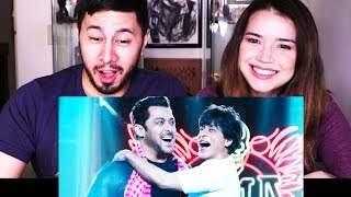 ZERO | Shah Rukh Khan | Salman Khan | Eid Teaser Trailer Reaction! width=