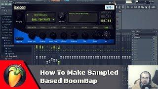 How To Make Sampled Based BoomBap | FL Studio Tutorial width=
