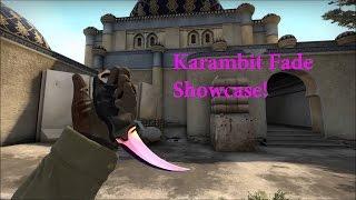 CS:GO Karambit Fade Showcase!