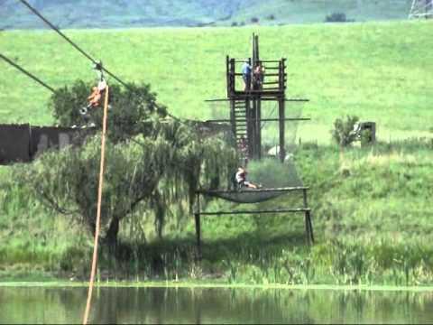 Zip line – Drakensville – South Africa