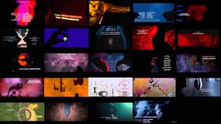 Every 007 Opening Title Song At The Same Time