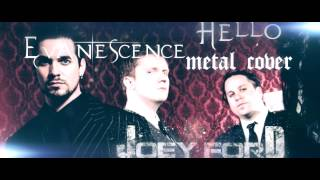 Evanescence - Hello [METAL COVER] [instrumental] + lyrics