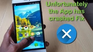 How to fix all unfortunately app has stopped errors on
