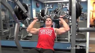 Shoulder-Trap Workout.