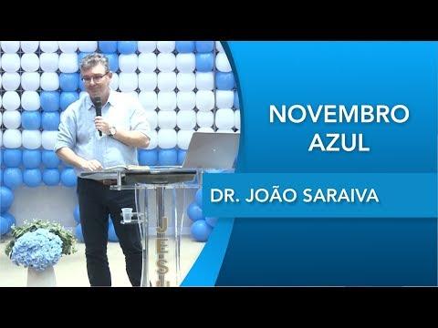 Dr. João Saraiva   Novembro Azul   Testemunho pessoal   23 11 2019