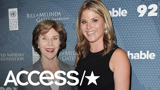 Laura Bush Reveals She Had To Ground Jenna Bush Hager For Prank Calling The White House | Access