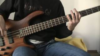 The Cranberries - Time is ticking out (bass cover)
