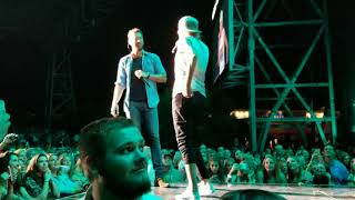 """Charles Kelly and Kelsea Ballerini covering Tim McGraw song """" Heart don't forget"""" 9/8/17"""