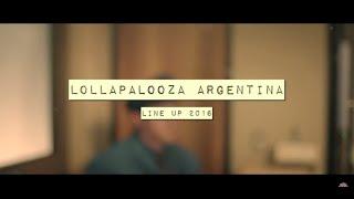 Line Up Lollapalooza Argentina 2016