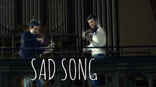 """Sad Song"" from SpongeBob - Violin Duet by Levent & Bernie"