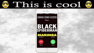 Latest iPhone Ringtone - Black Spiderman Marimba Remix Ringtone - Damian Lemar Hudson.