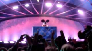 Deadmau5 live at Whistler Olympic Medals Plaza - 2/18/2010
