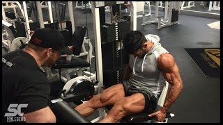 Sergi Constance , Flex Lewis, Legs workout with Neil Hill Y3T