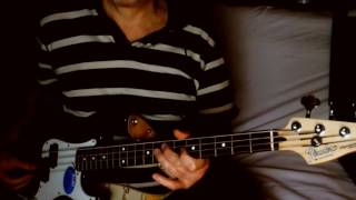 Theme For Young Lovers ~ The Shadows ~ Bass Demo w/ Fender P-Bass Jr & BT
