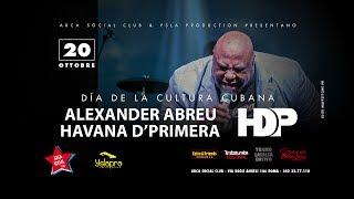 Havana D'Primera Live Roma 20.10.2017