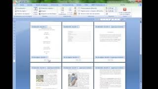 Enumeracion desde la tercera pagina WORD (o cualquiera pagina)