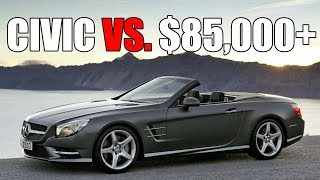 Civic Si (Supercharged) Vs. Mercedes SL400