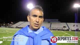 Narciso Cuevas entrenador del Atlético Nacional