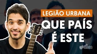 Videoaula Que País é Este (aula de violão)