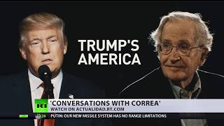 Chomsky: US moving to 'destroy the world,' losing international prestige with Trump as president