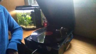 Marcha fúnebre Chopin. Disco pizarra gramofono