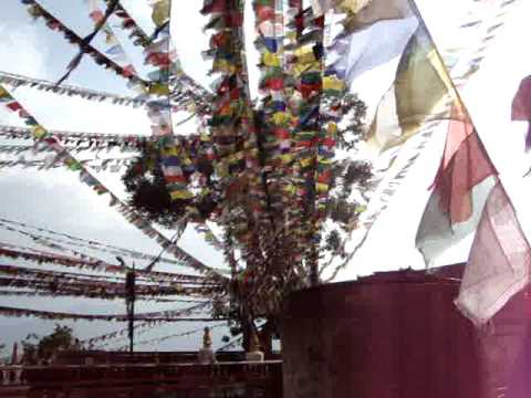 prayer flags at Swayambhunath 'Monkey Temple'