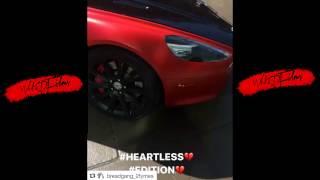Moneybagg Yo | Heartless Edition his Aston Martin