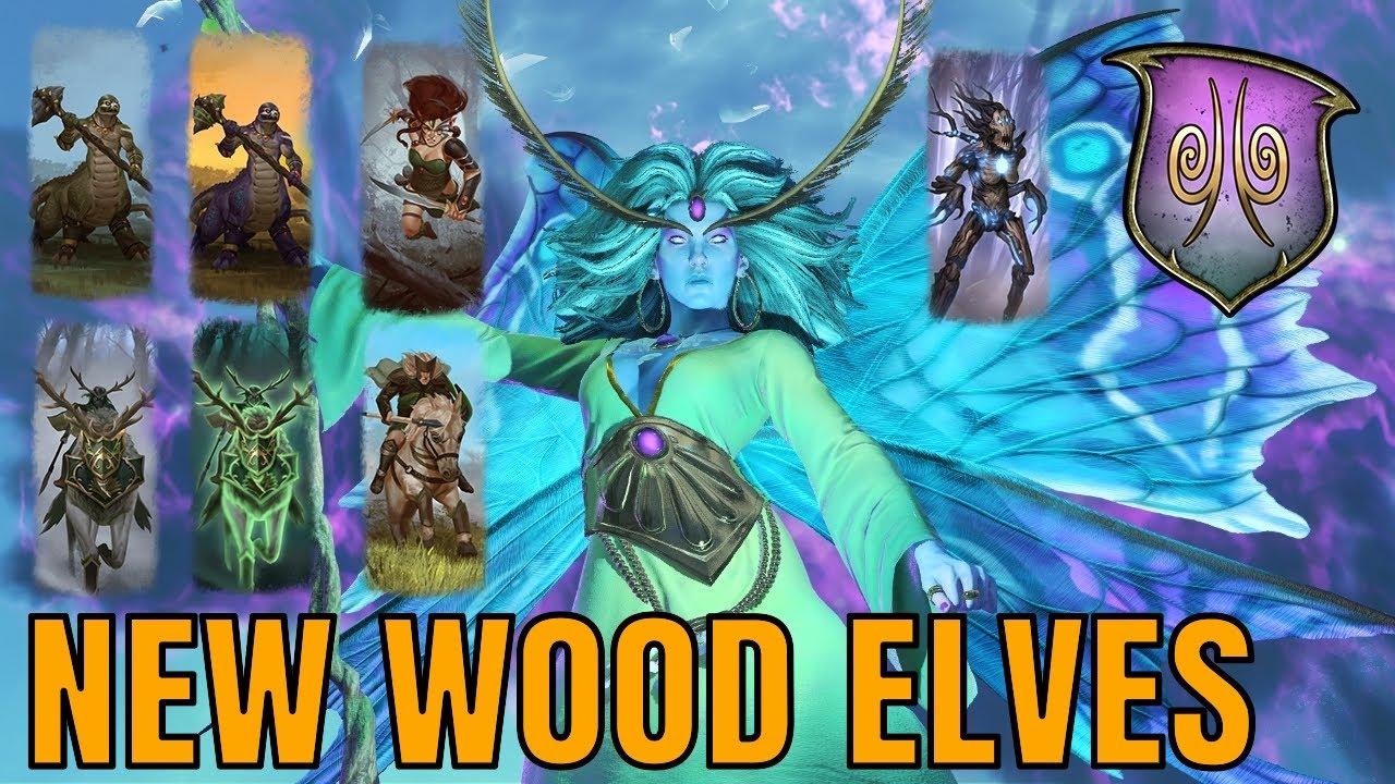 Turin - ALL NEW WOOD ELF UNITS   The Twisted & The Twilight - Ariel, Zoats, Reindeer Knights & More!