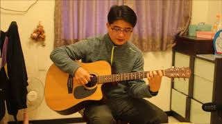 蔡依林幸福路上吉他彈唱cover