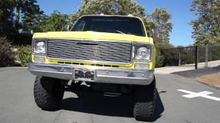 1975 Chevy Stepside Shortbed K10 4X4 C10 pickup Chevrolet GMC