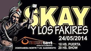 Paria (en vivo) - Skay y los Fakires en Mandarine Tent (24-05-2014) HD