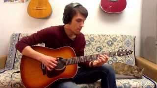 Taxman (The Beatles) acoustic guitar fingerstyle cover
