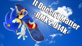 """COVER """"It Doesn't Matter - RMX 2.014k"""" Sonic Adventure 2"""