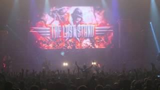 Sabaton - The Last Stand (Live @ Aegon arena, Bratislava)