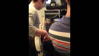 Fraser Churchill Recording Session 2012