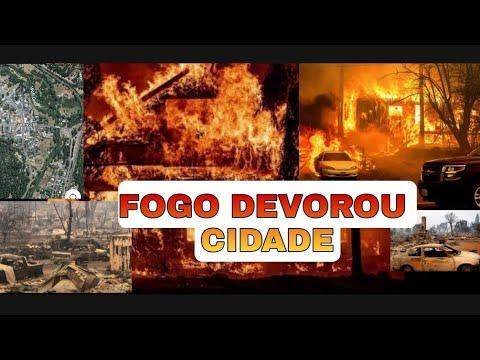 Cidade inteira desapareceu do Mapa - Em chamas Greenville não existe mais