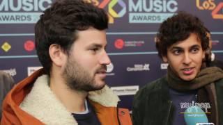 Taburete | Entrevista | Los 40 Music Awards 2016