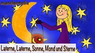 Laterne, Laterne, Sonne, Mond und Sterne - Sankt Martin Lied   Laternenlieder   Kinderlieder deutsch