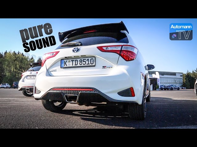 Yaris GRMN (212hp) - pure SOUND (60FPS)