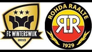 Samenvatting Fc Winterswijk - ROHDA Raalte