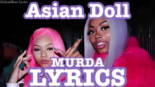 Asian Doll - Murda LYRICS