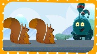 Tricky Tracks - Wiewiórki w pociągu, BabyTV Polski