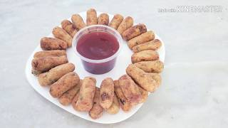 Como fazer um delicioso croquete de frango