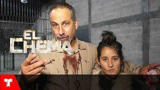 El Chema | Detrás de cámaras del enfrentamiento entre El Chema y Ricardo | Telemundo Novelas